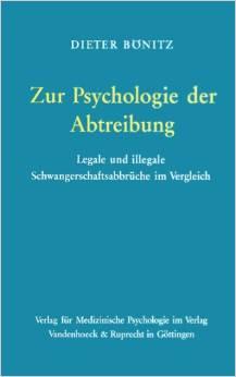 Zur Psychologie der Abtreibung